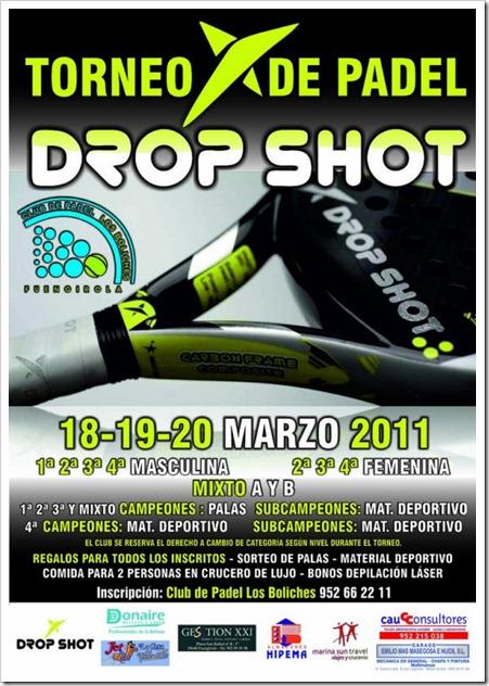 torneo de padel drop shot en club los boliches marzo 2011