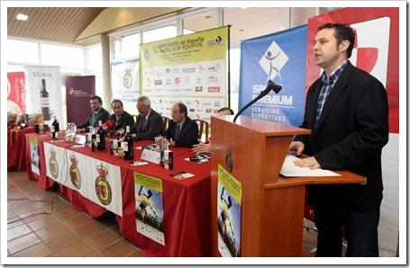 Presentación Campeonato de España de padel 2011 c