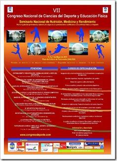 Congreo Ciencias Acti Fisica y el deporte pontevedra 2011