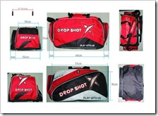 BOLSA DROP SHOT ELITE ROJO 2011
