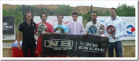 260 participantes en el Torneo Plata NB de la Federación Valenciana en Padelpoint. la nucia ganadores