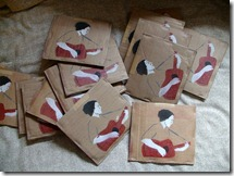 Rough Cuts EP comes packaged in a homeade cardboard sleeve.