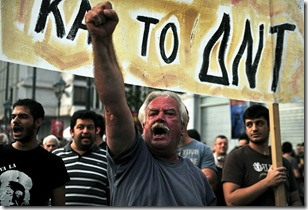 GREECE-EU-PROTEST