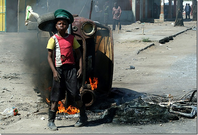 MOZAMBIQUE-POLITICS-PROTESTS-POVERTY