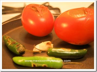 Roasted salsa recipe