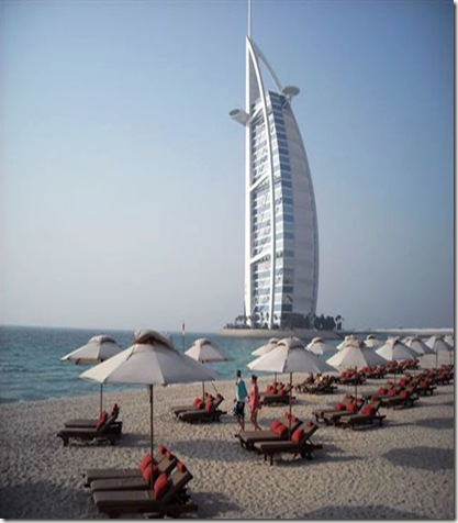 Dubai Beaches a Popular Tourist Destination