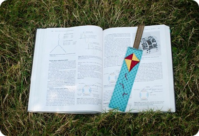 High, Up in the Sky Kite Bookmark