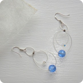 Jans Creations by the Sea earrings