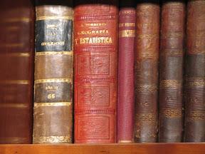 En mi biblioteca.