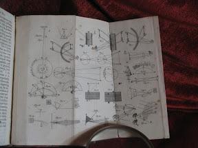 Lámina con diagramas de óptica