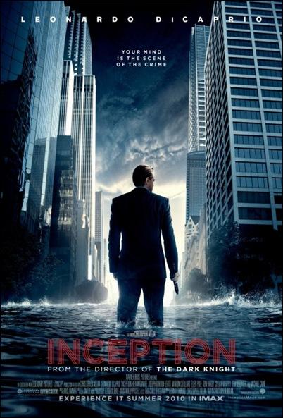 inception nolan promo poster