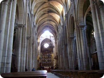 Interior da Catedral Ourense