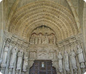 Pórtico da Catedral de Tui