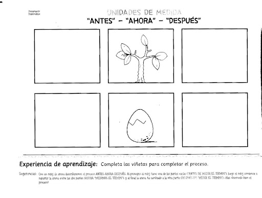 DIBUJOS DE SECUENCIAS TEMPORALES