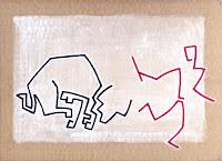 Pamplona 2 - acrilico su cartone - 23x32 cm