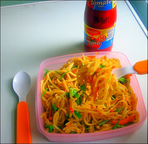 Schezwan noodles 1