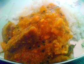Brinjal onion gravy1