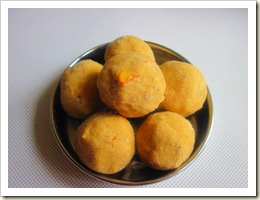 wheat flour ladoo