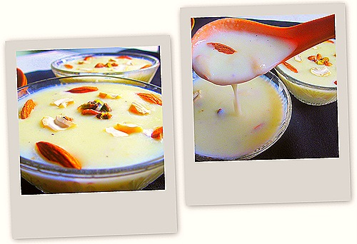 Phirni collage