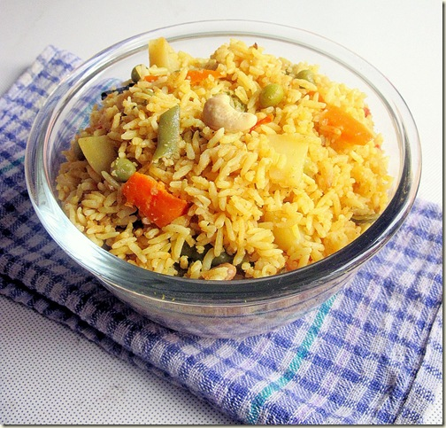 Veg dum biriyani