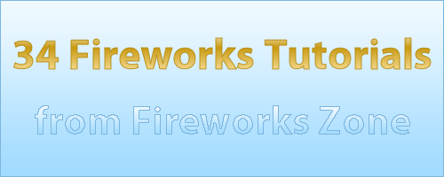 34 Adobe fireworks tutorials for Web Designers