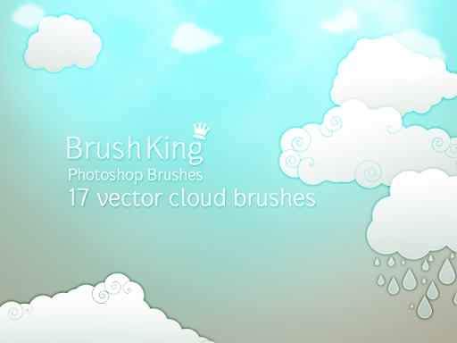 Clouds Mist Photoshop Brushes