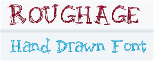 Roughage : Hand Drawn font
