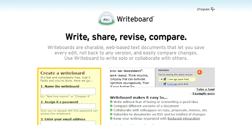 Writeboard - MS office Word Alternative