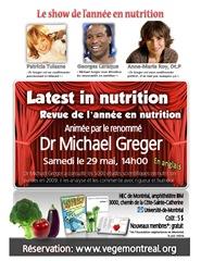 Revue de l'année en nutrition