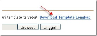 download template lengkap