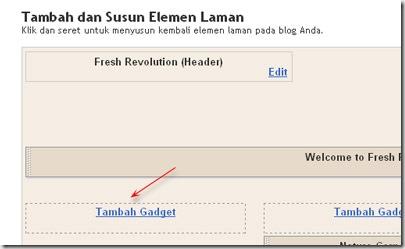 tambah gadget ninosaji.blogspot.com