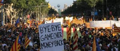Manifestació 10 de juliol de 2010: Som una nació, nosaltres decidim. Independència!