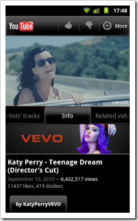VEVO-on-YouTube-Android-Native-App-screenshot-180x300