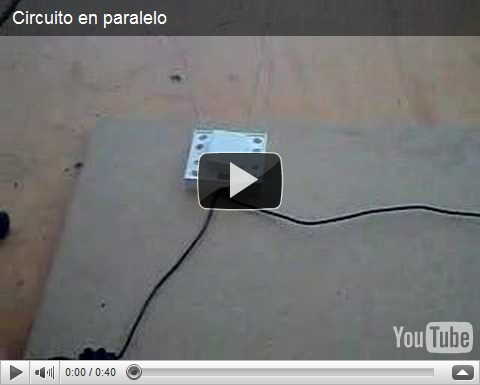 Circuito Electrico En Serie : Circuitos en serie y paralelo 2 experimentos caseros