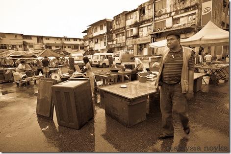 Satok market, kuching 9