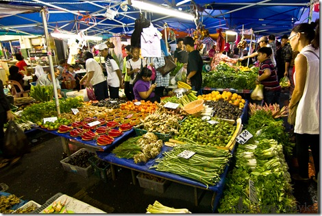 Satok market, kuching 11