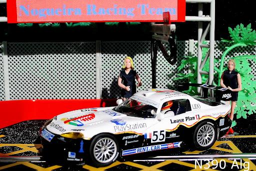 Dodge Viper GTS-R de Le Mans 1999 #55, E. Clerico, =Fly N390Alg