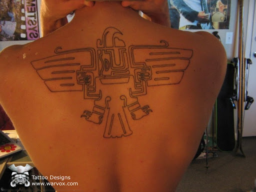 aztec eagle tattoo. Aztec Mayan Incas Tattoo Design by Felix Pacheco WARVOX