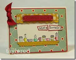 coffee shop card