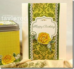 card & tin close up