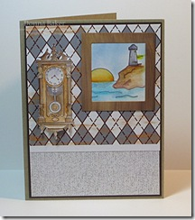 masculine card