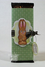 chocolate bunny treat