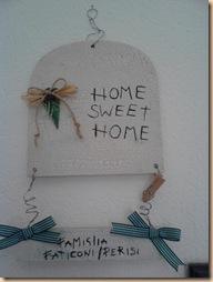 targhetta home sweet home2