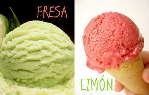 Fresa y limón. ensayos de abriiL 2010