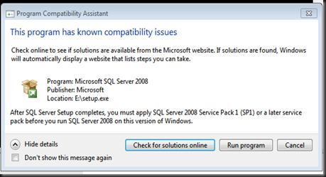 ssms install screen shots 2