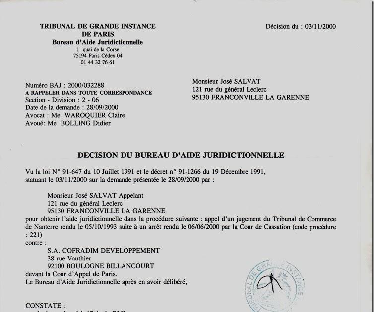 RAPPORT DE MATRE Marc BARONI Dcision prononce le 03 Novembre