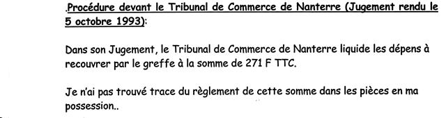 Rapport De Ma Tre Marc Baroni Sur Les D Pens De Premi Re