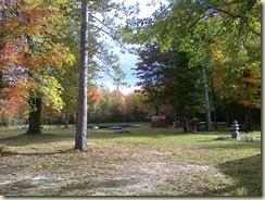 camp in fall