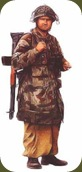 Sargento mayor 1ª División Aerotransportada.