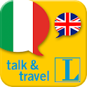 Italian talk&travel icon